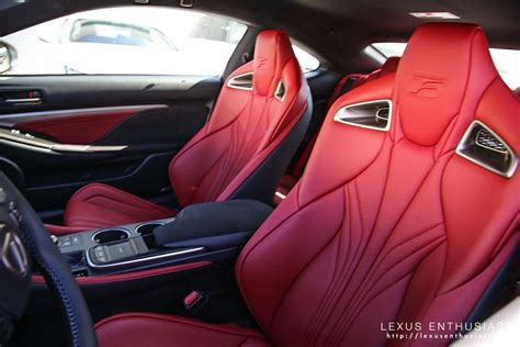 lexus rcf white interior lexus rcf white google search sports cars pinterest