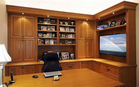 Custom Home Office Furniture Design Ideas