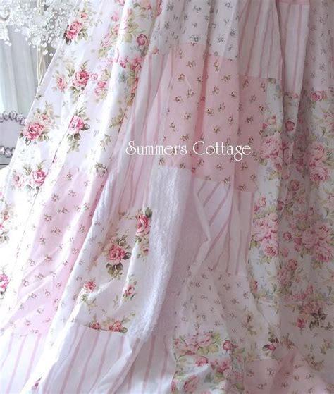 Gardinen Shabby Chic by Pretty Ruffles Drape Set Baby Pink Ruffled Curtain Drapes