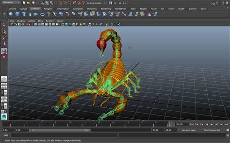 3d Rigging And Animation On Behance