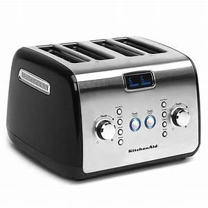 Kitchen Aid Toaster : kitchenaid artisan series 4 slice toaster onyx black for kitchenware superstore ~ Yasmunasinghe.com Haus und Dekorationen