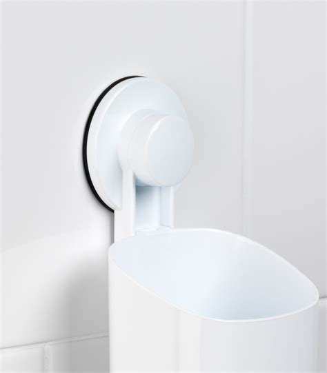 Bathroom Suction Mirror by Beldray Bathroom Plastic Suction Toothbrush Holder And