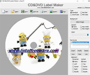 free cd label maker software for windows 7 With best free label maker software
