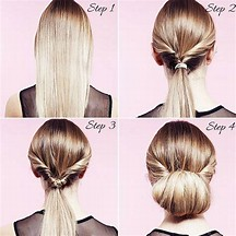 HD Wallpapers Juda Hairstyle For Short Hair Step By Step Wallpaper - Juda hairstyle for short hair