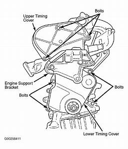 2003 Chrysler Sebring Serpentine Belt Routing And Timing