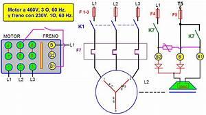 Coparoman  Diagramas De Control El U00e9ctrico De Motor Con Freno