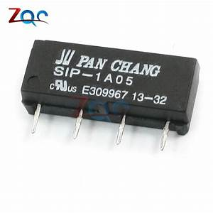 5pcs 5v Relay Sip 1a05 Reed Switch Relay For Pan Chang