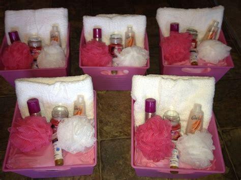 bridal shower door prizes baby shower door prizes spa baskets door prize baby