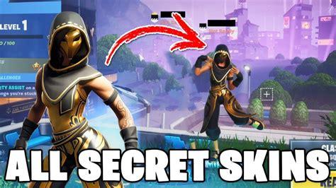 secret  encrypted fortnite skins emotes glitter