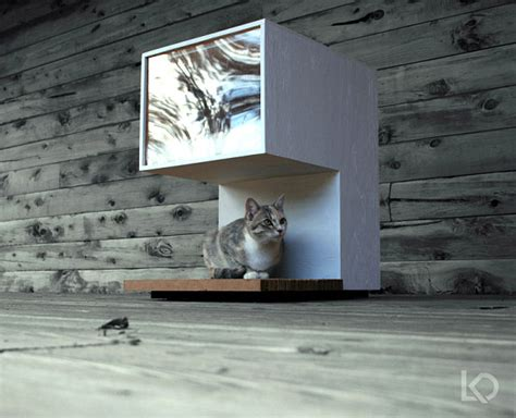 The Cat House by Modern Pet Decor And Supplies For Your Friend