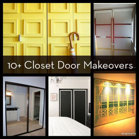 roundup 10 easy and diyable closet door makeovers