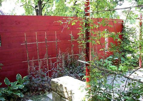 Garten Sichtschutz Holz Schöner Wohnen by Blickschutz Aus Holz Selber Bauen Komplette