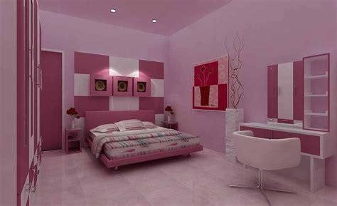 inspirasi desain kamar tidur perempuan minimalis