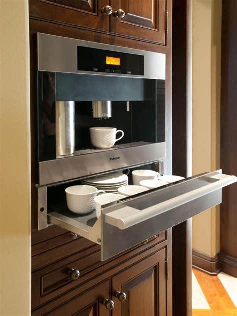 stainless steel coffee station hgtv