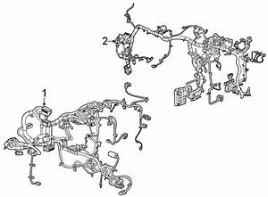 Gmc Acadia Instrument Panel Wiring Harness  Wire Harness