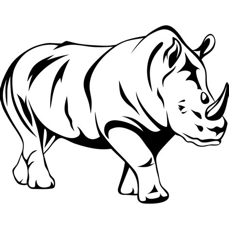 outline drawings  animals clipart