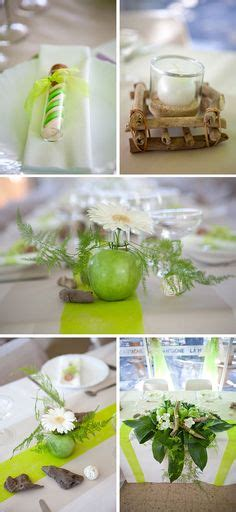 idee decoration mariage theme nature la pomme invit 233 e d honneur de votre mariage marius co centre de table
