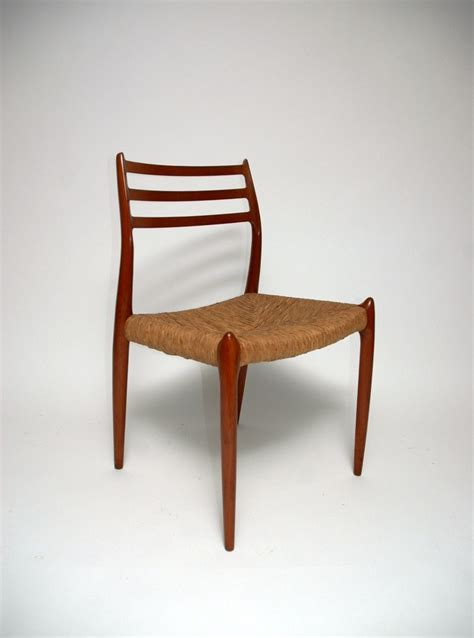 mid century l mid century model 78 dining chairs by niels o moller for