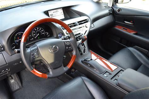 lexus rx interior 2012 2012 lexus rx450h hybrid pre owned