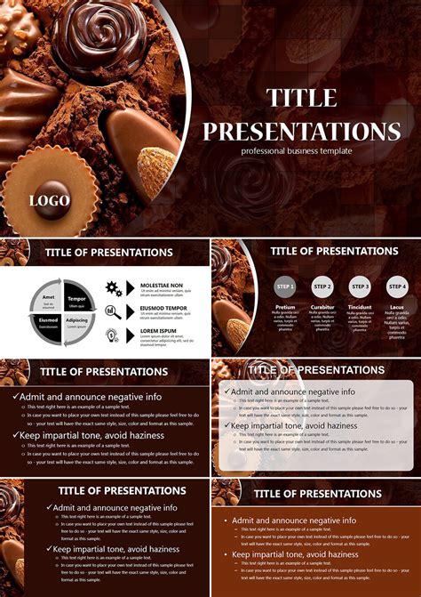 chocolate powerpoint templates imaginelayoutcom
