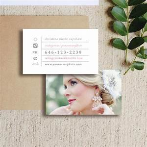 Wedding photographer business cards business card templates creative market for Business card wedding