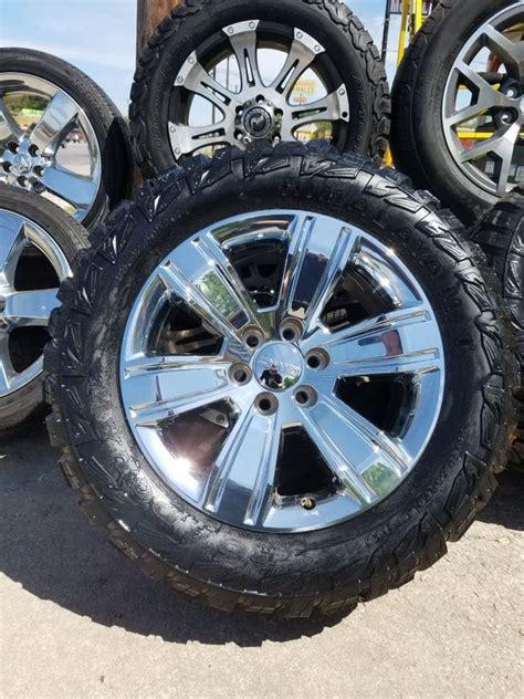 gmc chrome oem wheels   set   mts  sale