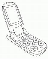 Phone Cell Coloring Printable K5 Worksheets Azcoloring Via sketch template