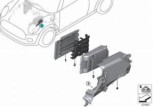 2017 Mini Cooper Clubman B  Power Distribution Box  Cover