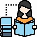 Estudiar Icon Studying Gratis Svg Estilo Flaticon