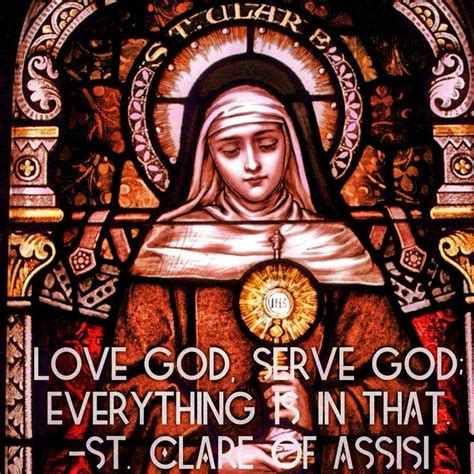 st clare of assisi catholic news world novena to st clare of assisi patron of television and sore