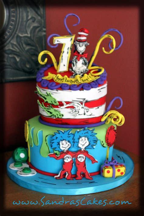 dr seuss cake dr seuss inspired birthday cake