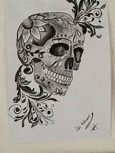 Tete De Mort Mexicaine Dessin : dessins de l a hillairet mars 2015 ~ Melissatoandfro.com Idées de Décoration