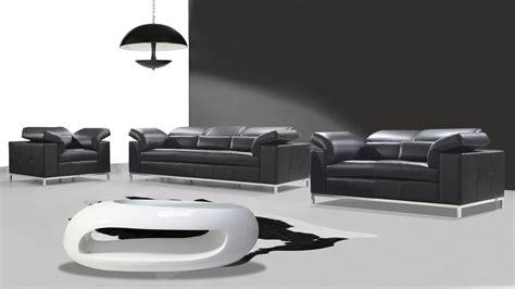 salon moderne encuir salons cuir