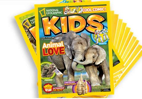 National Geographic Kids Magazine $12 ($49 Value