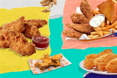 Drain on a paper towel and serve with ketchup. Best Fast Food Chicken Tenders and Nuggets, Ranked - Thrillist