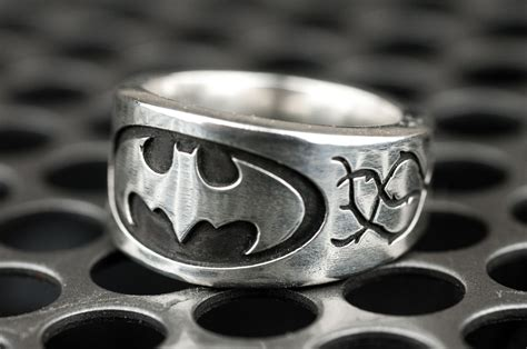 batman wedding ring with made batman vine engagement ring by rock my world inc custommade
