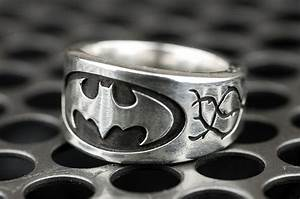 hand made batman vine engagement ring by rock my world With batman wedding rings for her