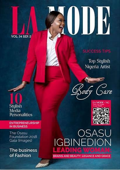 Magazine Igbinedion Osasu Mode Issue Personality September