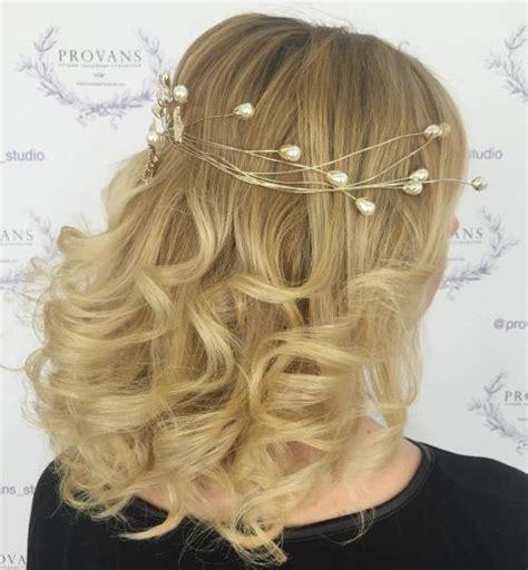 top 20 wedding hairstyles for medium hair