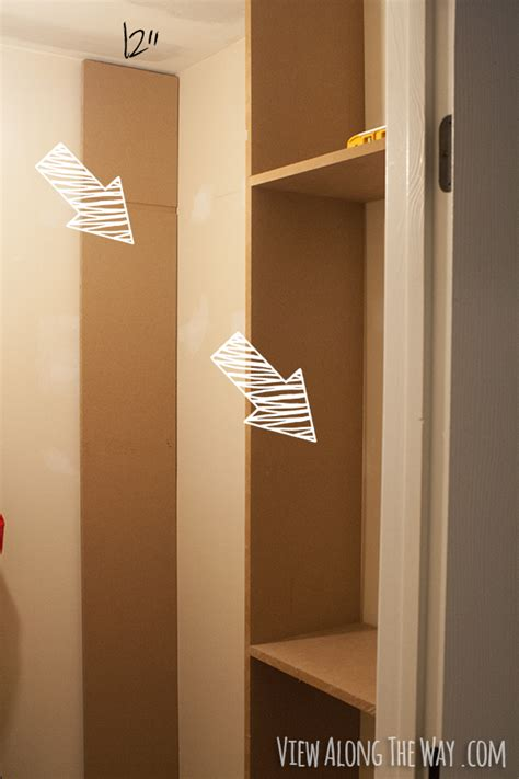 How To Build A Shelf In A Closet by How To Build Custom Closet Shelves View Along The Way