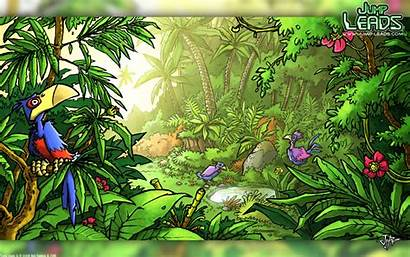 Jungle Background Rainforest 1080p Kid Theme Wall