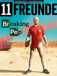 Pic: This Breaking Bad inspired Pep Guardiola magazine ...