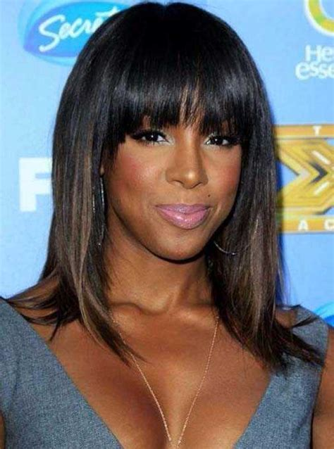 black s weave hairstyles with bangs hairstylesco