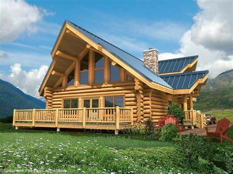 Small Log Home Plans With Loft by Log Home Plans And Prices Small Log Home With Loft Log