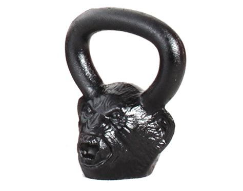 kettlebell monkey head monster kettlebells iron cast face