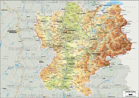Carte Nouveau Monde 2017 Auvergne Rhone Alpes by Carte Rh 244 Ne Alpes