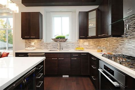 22 Beautiful Kitchen Colors With Dark Cabinets Quarter Sawn White Oak Kitchen Cabinets Builders Above Cabinet Decor Knobs Or Handles How To Paint A Led Lights For Used Houston New Design