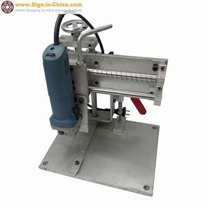 aliexpresscom buy electric bending slot cutting machine With ez bender channel letter