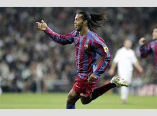 Goles en el Bernabéu la magia de Ronaldinho en 2005 YouTube