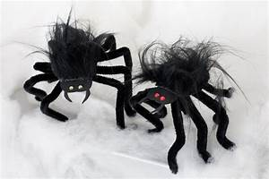 Basteltipps Für Halloween : bastelidee zu halloween spinnen basteln ~ Lizthompson.info Haus und Dekorationen